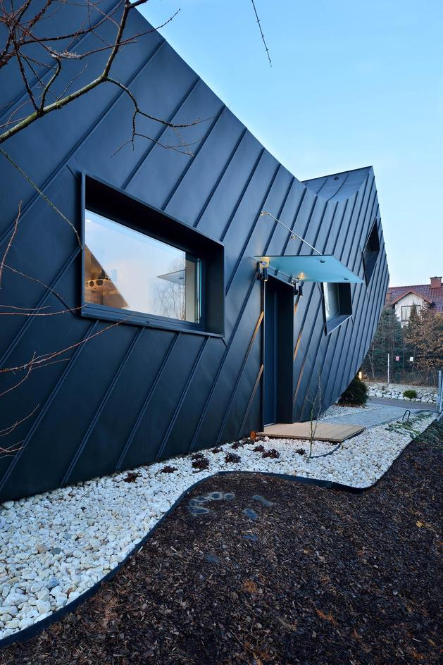Проект необычного дома 4