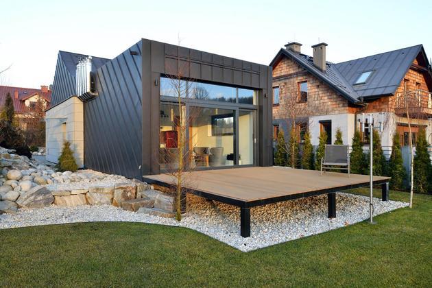 Проект необычного дома 8