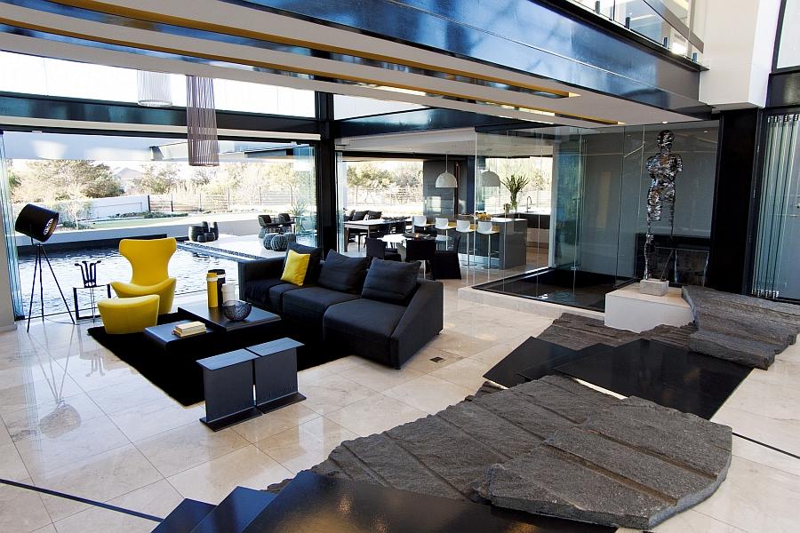 Гостиная - Проект резиденции House Ber