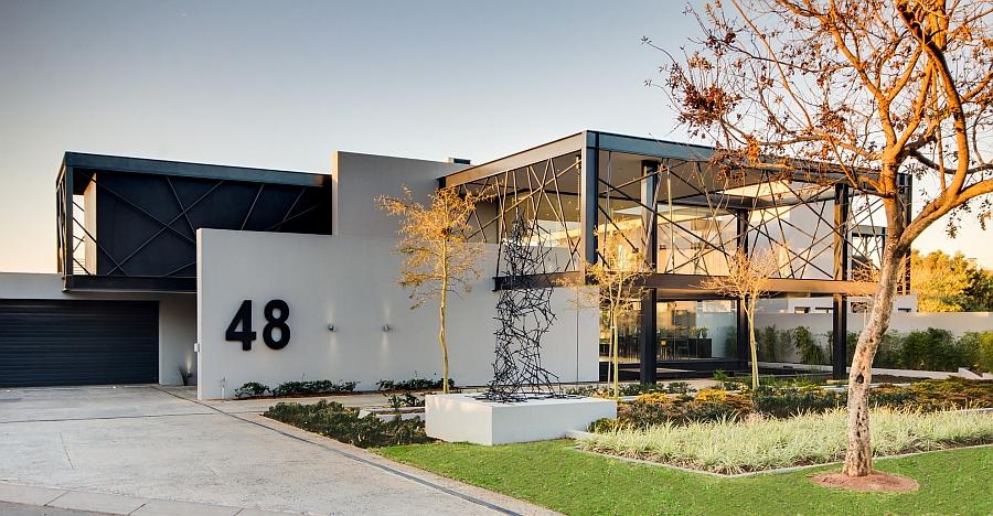 Проект резиденции House Ber - фасад