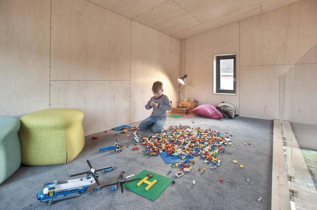 Проект угловой пристройки к дому 12