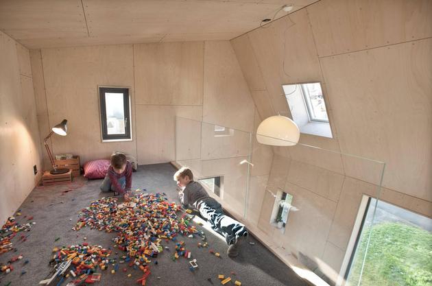 Проект угловой пристройки к дому 11