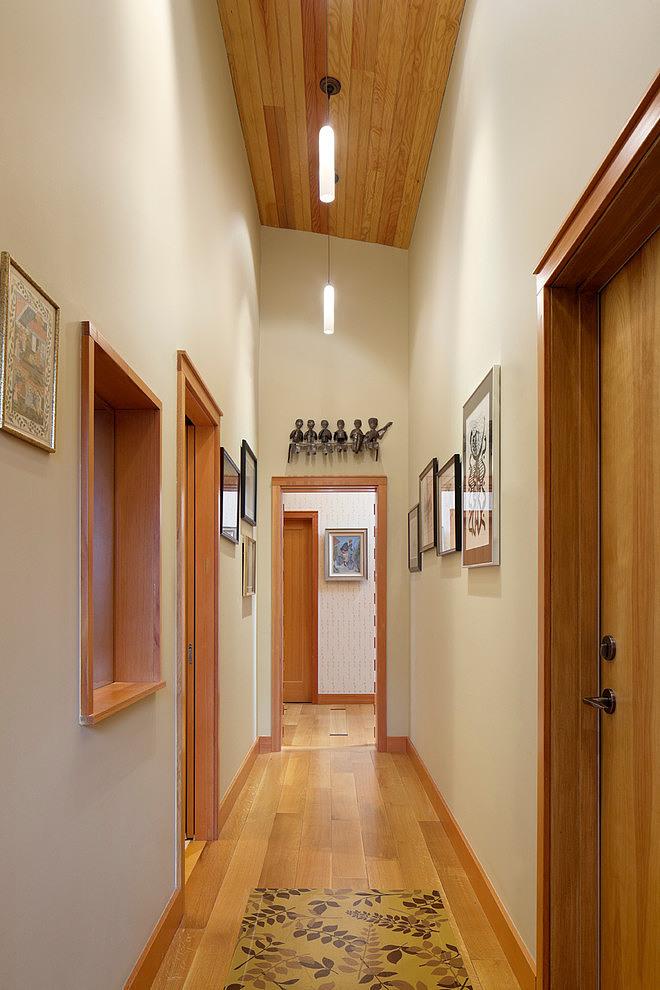 деревянный дом в стиле ранчо 6