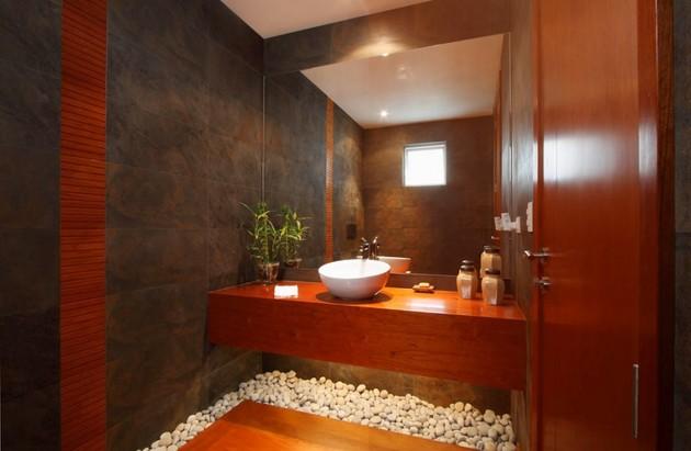 Железобетонный дом - фото ванной