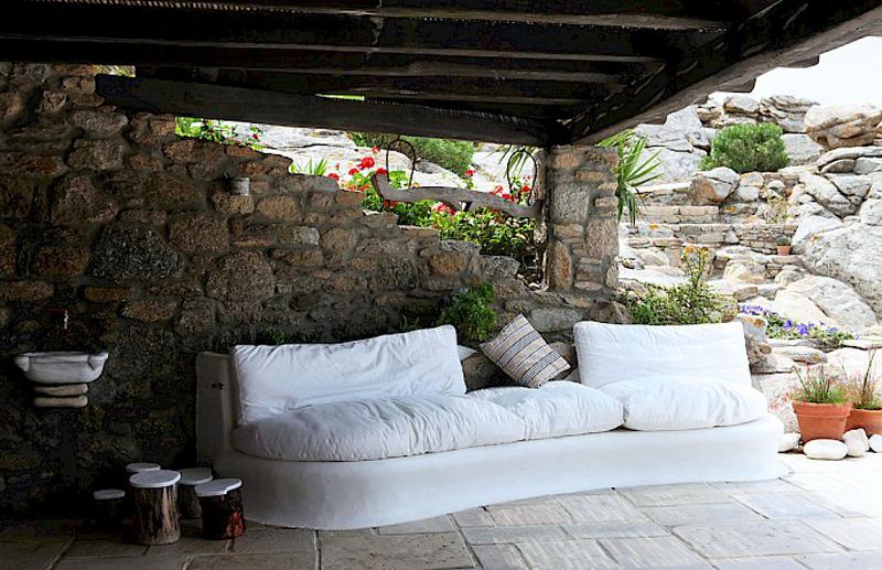 Дом в греческом стиле - патио