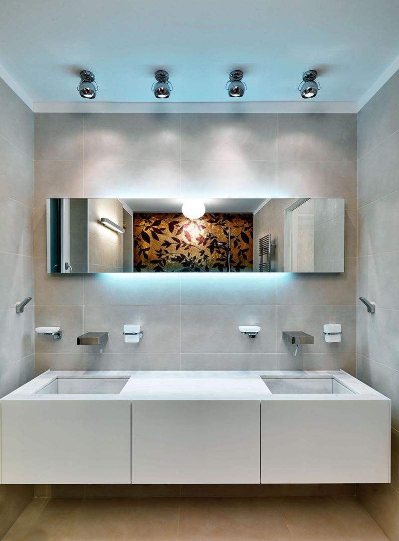 Фото виллы у озера Комо - ванная