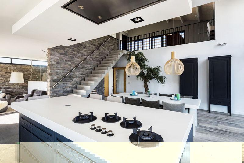 Удивительный дом из Бергена - интерьер