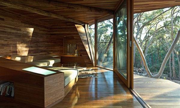 Проект дачного домика - интерьер