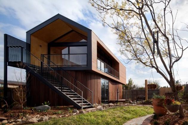 Пристройка к дому от Chan Architecture (6)