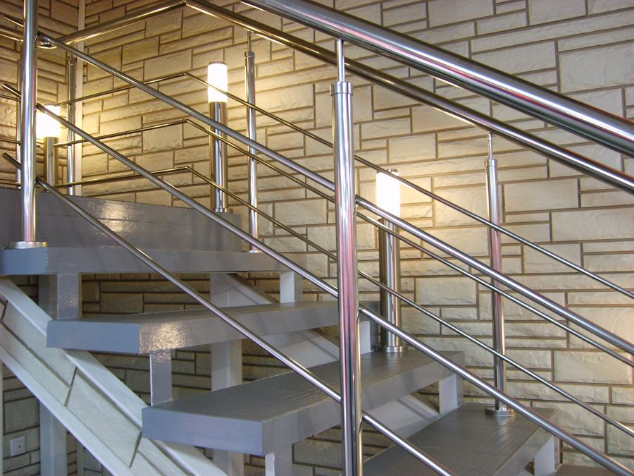 Перила для лестниц из металла своими руками 861