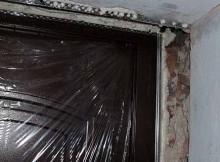 Как отделать дверной проем входной двери