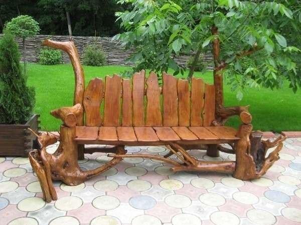 скамейки для дачи своими руками
