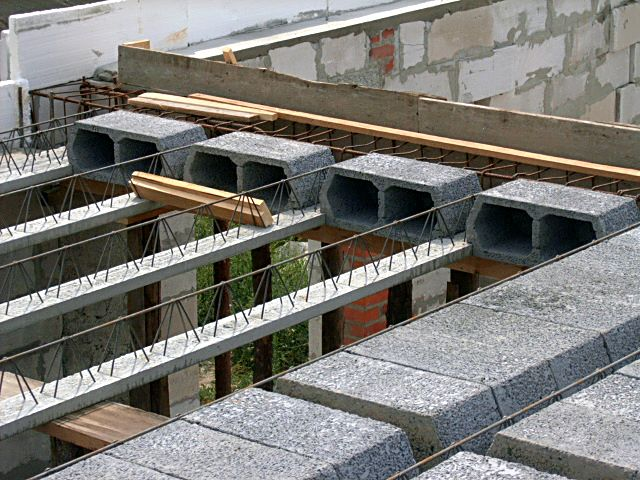 легкие плиты перекрытия из легкого бетона