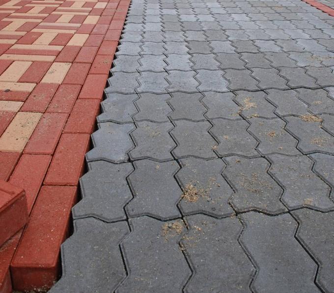 тротуарная плитка виды и способы укладки