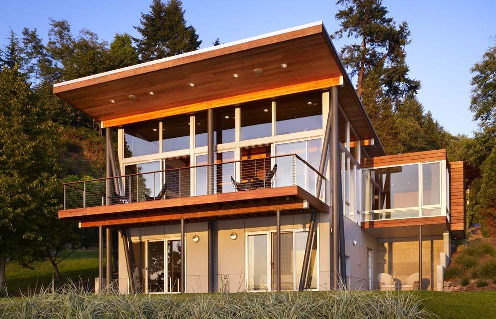проекты с односкатной крышей