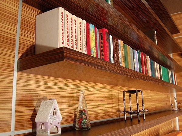 Полки для книг на стену своими руками