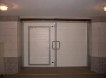 гаражные ворота утепляем пенопластом