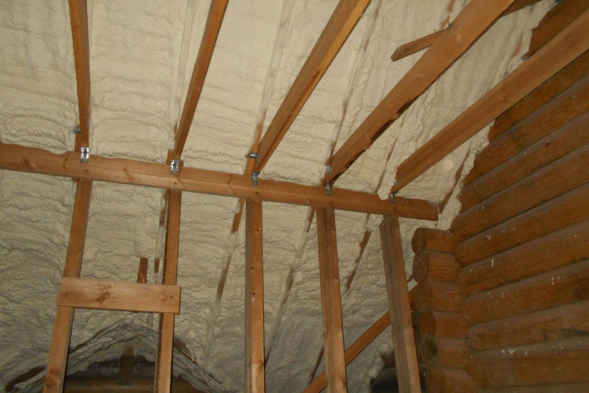 Как утеплить крышу изнутри своими руками фото 785