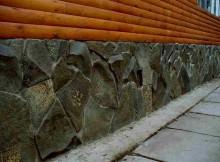 натуральный камень для отделки цоколя
