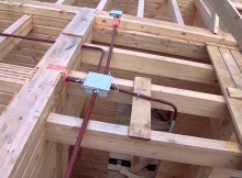 Проводка в деревянном доме своими руками
