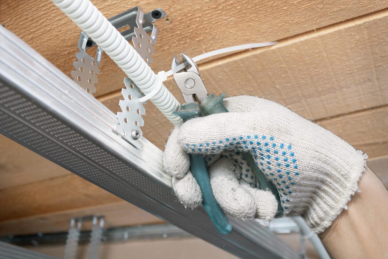 схема монтажа электропроводки в гараже своими руками