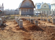 как рассчитать бетон для фундамента