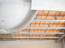 Каркас для потолка из гипсокартона – как сделать?
