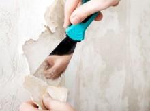подготовка к поклейке обоев ранее окрашенных стен