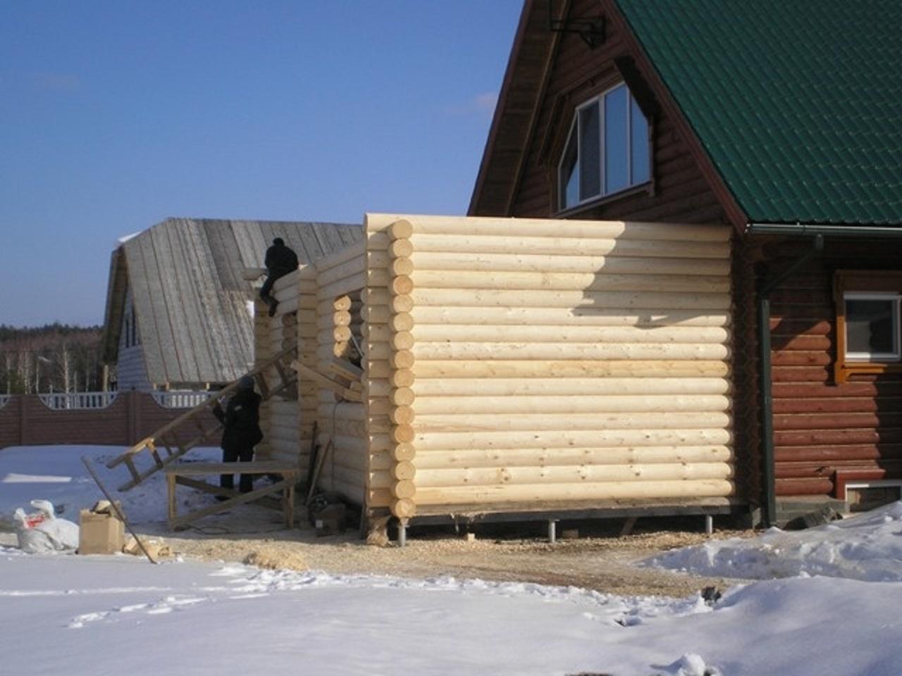 Пристрой к деревянному дому – как правильно сделать